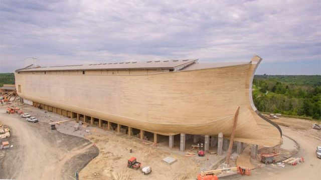 Real size replica of the Noah's Ark