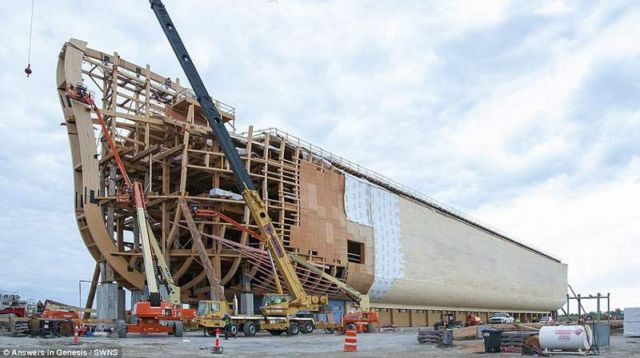 Real size replica of the Noah's Ark (5)