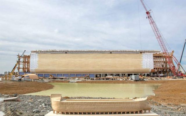 Real size replica of the Noah's Ark (4)