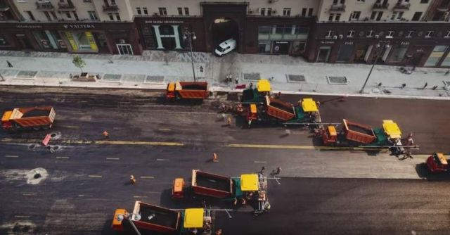 Reconstruction of the Tverskaya street (1)