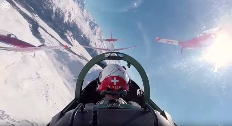 Swiss Air Force in 360 (1)
