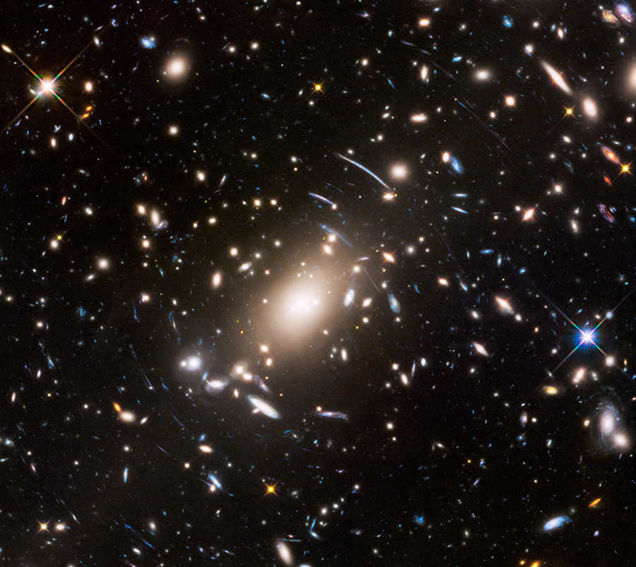 The immense galaxy cluster Abell S1063