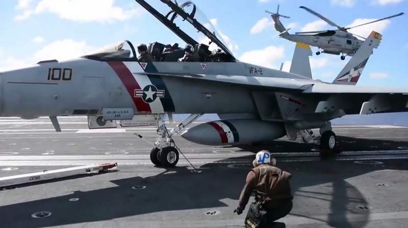 VFA-2 Bounty Hunters Southern Seas Deployment Cruise Video (4)