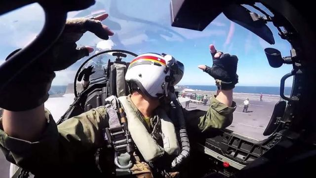 VFA-2 Bounty Hunters Southern Seas Deployment Cruise Video (3)