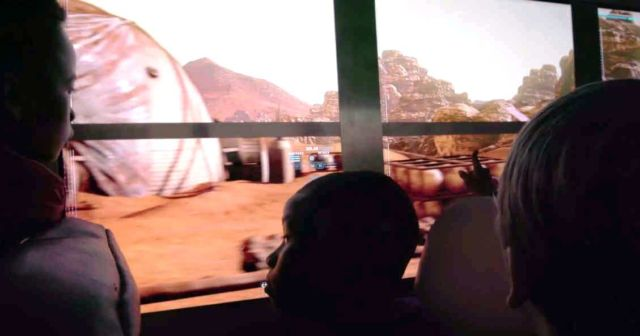 Virtual Trip to Mars in a School Bus (1)