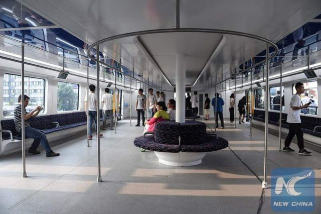 World's first Transit Elevated Bus (1)