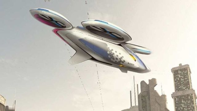 Airbus flying taxis CityAirbus