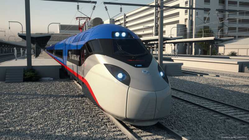 Amtrak Next-Generation of High-Speed Rail