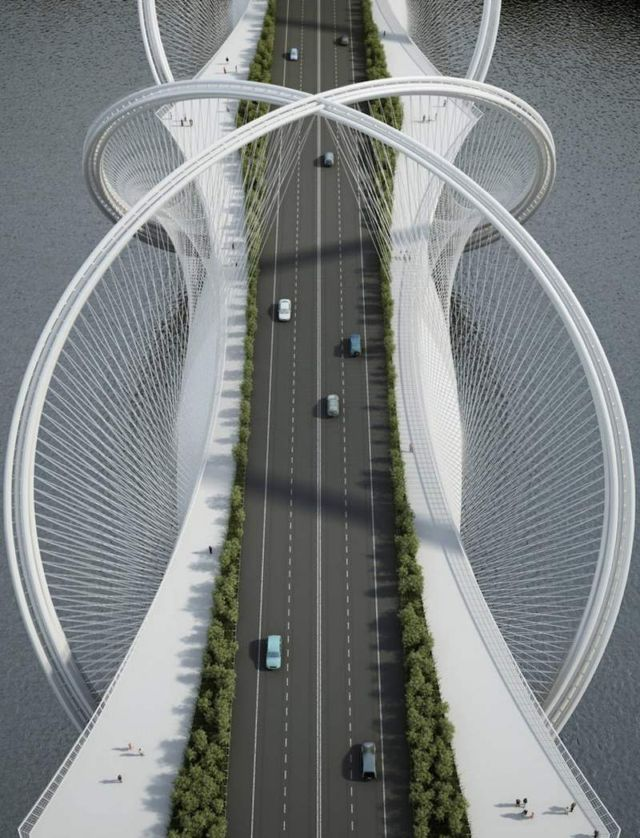San Shan Bridge for the 2022 Beijing Winter Olympics (5)