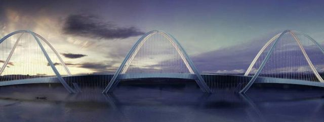 San Shan Bridge for the 2022 Beijing Winter Olympics (4)