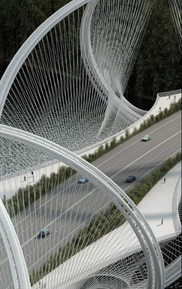 San Shan Bridge for the 2022 Beijing Winter Olympics (3)