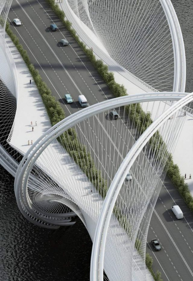 San Shan Bridge for the 2022 Beijing Winter Olympics (2)