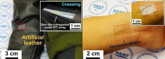 Flexible Screen you can wear on your wrist