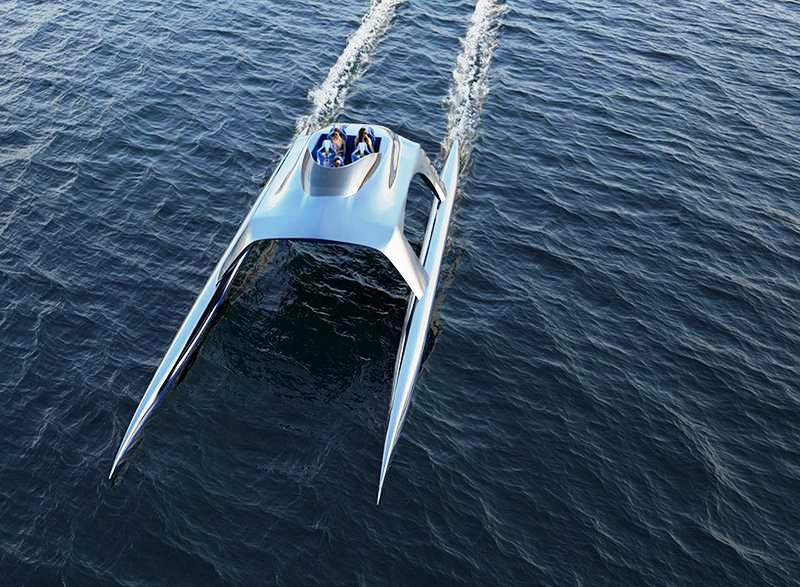 Glider Luxury Sports Yacht (4)