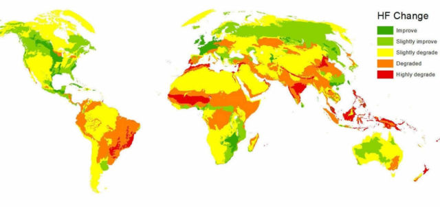Human's Growing Impact on the Planet 1