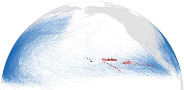 Hurricanes Madeline and Lester (2)