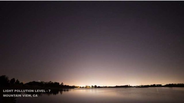 how light pollution affects the view of the night skies (4)