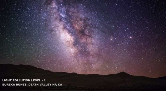 how light pollution affects the view of the night skies (1)
