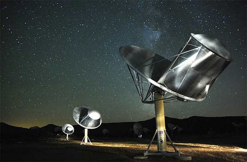 The Allen Telescope Array in California