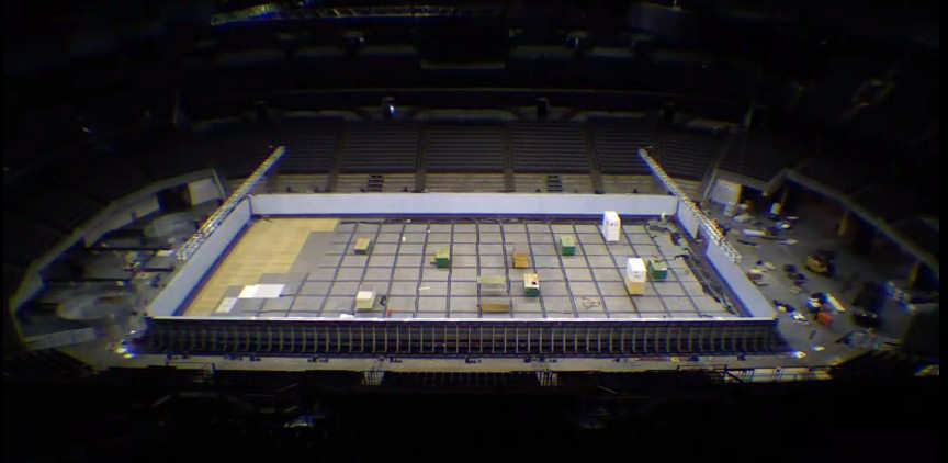 Wordlesstech Olympic Swimming Competition Pool Build