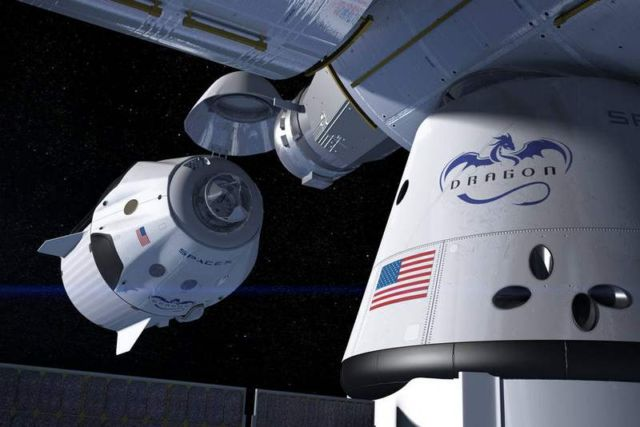 Second SpaceX Crew Mission to Space Station (1)