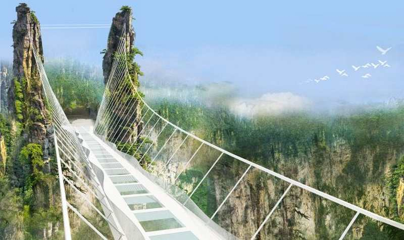 Zhangjiajie Grand Canyon Glass Bridge (4)