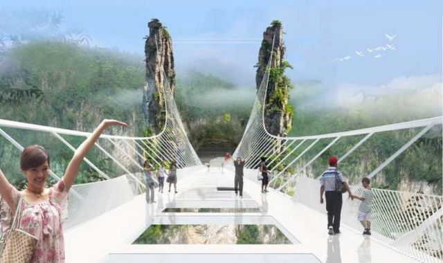 Zhangjiajie Grand Canyon Glass Bridge (3)