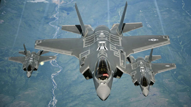 The F-35A was declared Combat Ready (1)