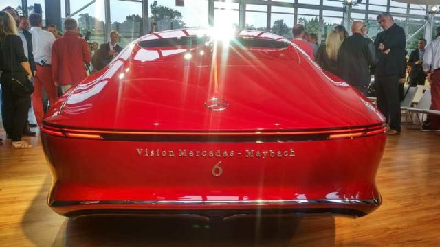 Vision Mercedes Maybach 6 (2)