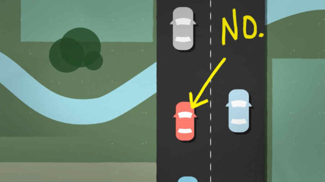 Why you shouldn't drive slowly in the Left Lane (1)