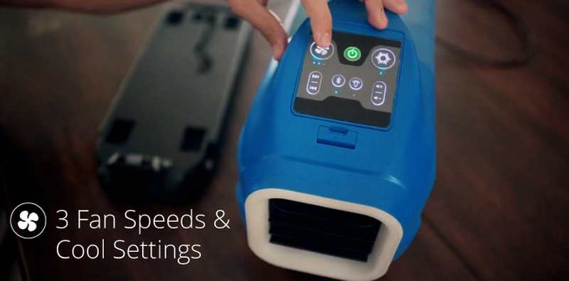 Zero Breeze Portable Air Conditioner | wordlessTech