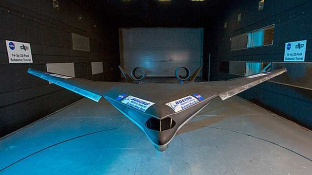 Boeing tests 'Blended Wing' plane