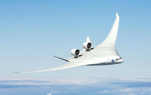 Boeing tests 'Blended Wing' plane (2)