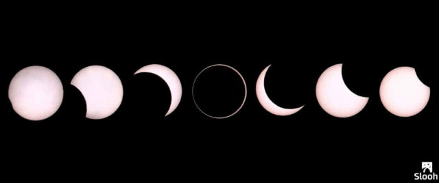 Did you miss the Annular Solar Eclipse 1