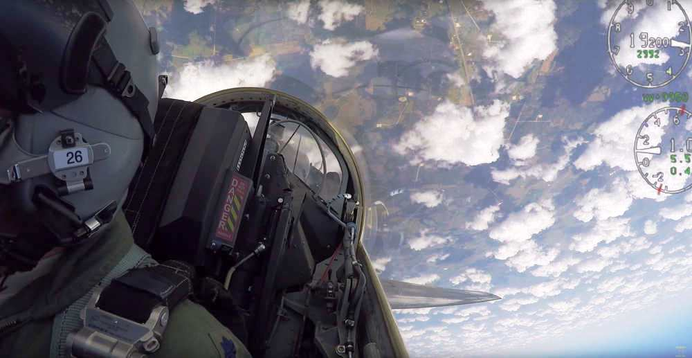 Feeling the Forces of T-38 Jet Fighter