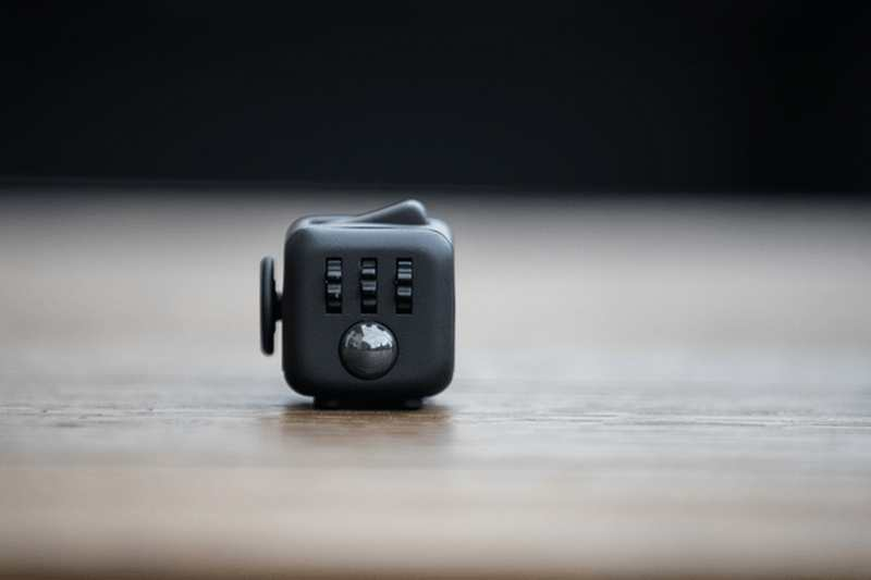 Fidget Cube Stress Relieving Toy Wordlesstech