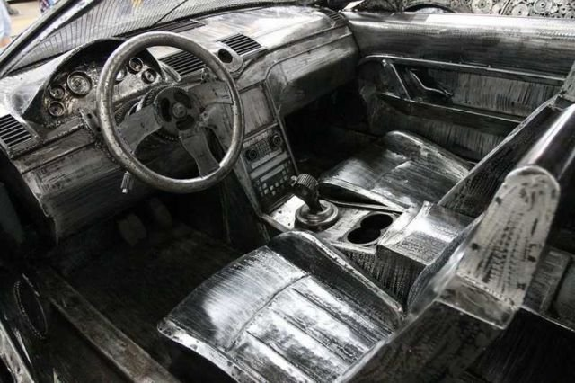 Iconic Cars created from Recycled Metals (7)
