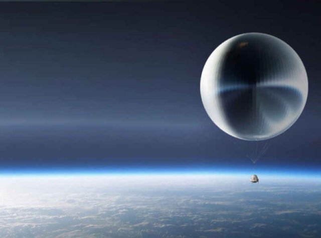 KuangChi Science to send tourists to the stratosphere
