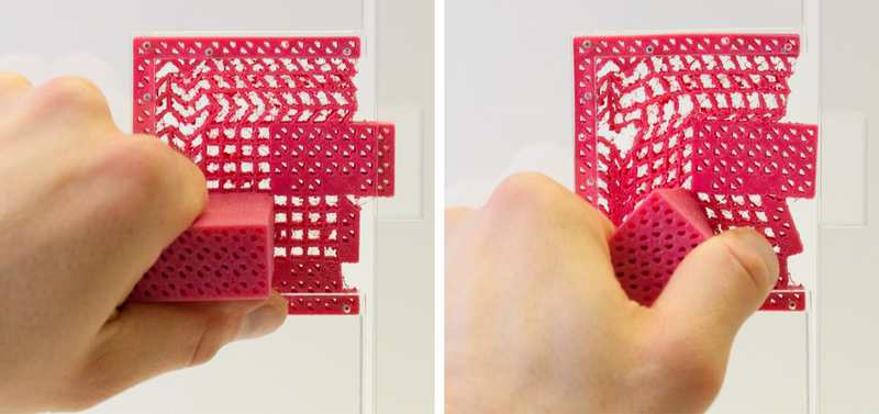 Metamaterial Mechanisms