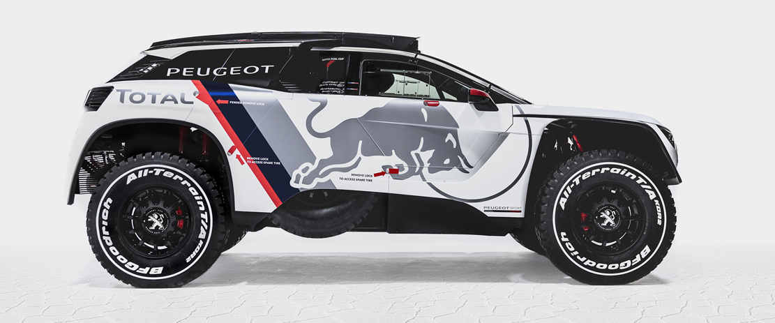 peugeot 3008 dkr race car wordlesstech. Black Bedroom Furniture Sets. Home Design Ideas
