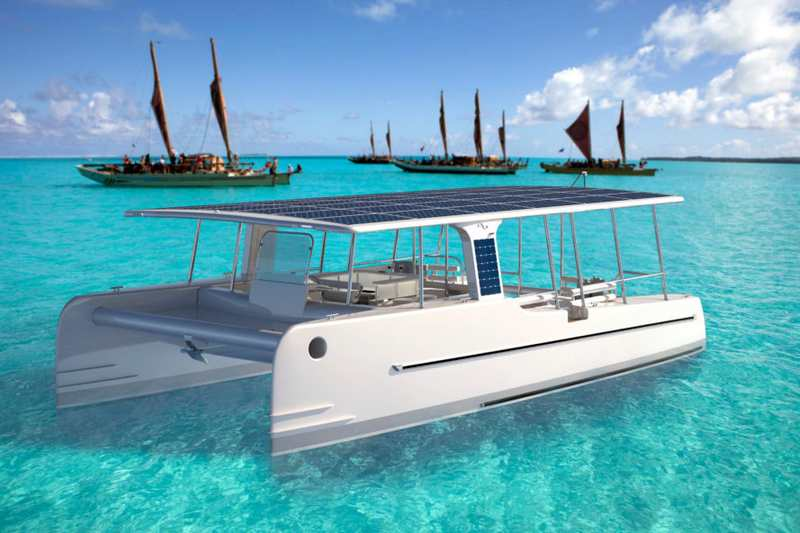 SoelCat Solar-powered motor boat (5)