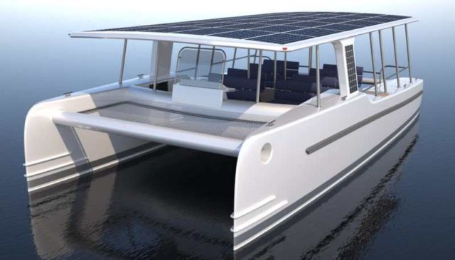 SoelCat Solar-powered motor boat (3)