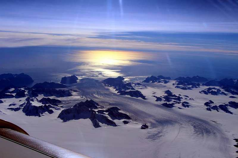 Summer Melt on Greenland Ice Sheet
