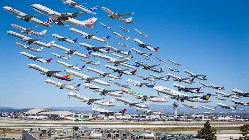 Images of Air Traffic around the World (6)