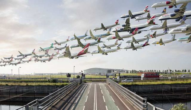 Images of Air Traffic around the World (5)