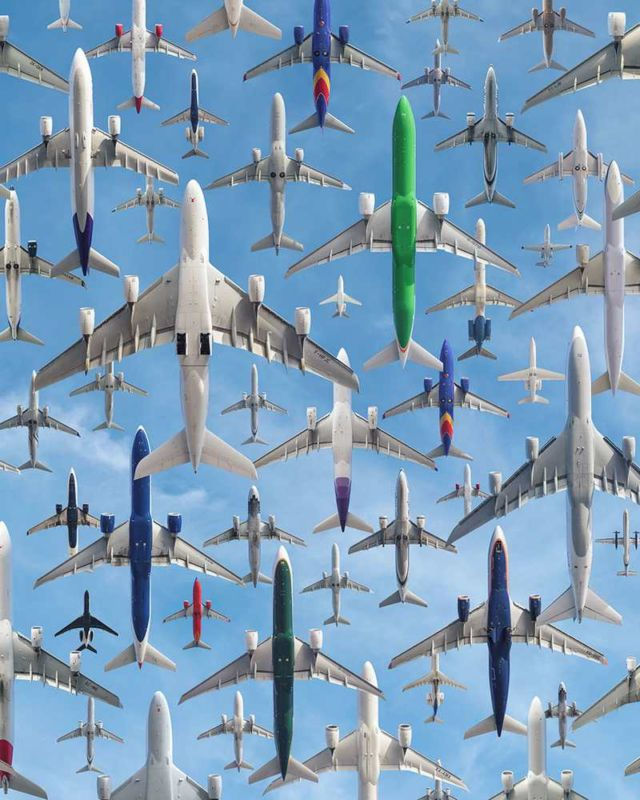 Images of Air Traffic around the World (4)
