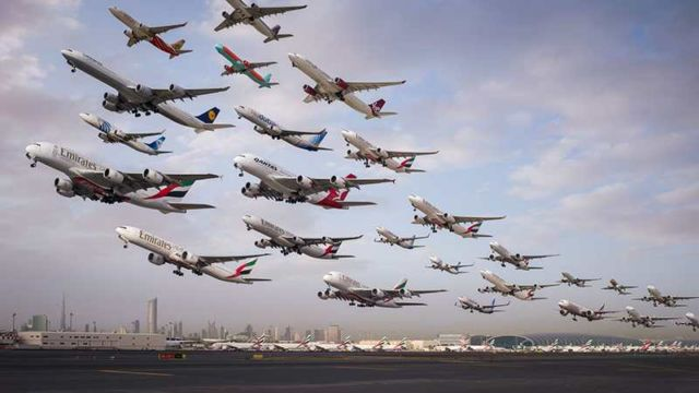 Images of Air Traffic around the World (3)