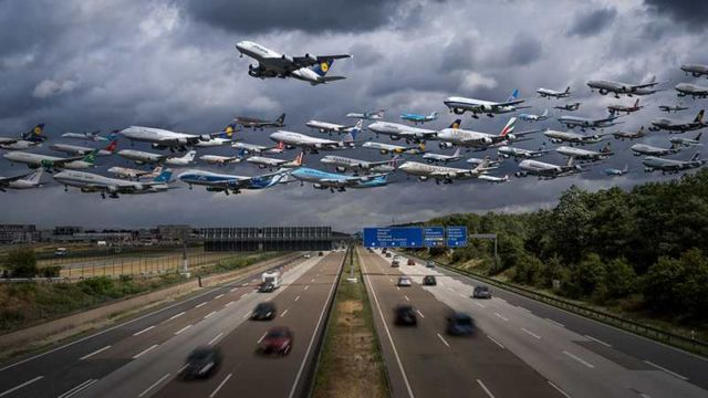 Images of Air Traffic around the World (1)