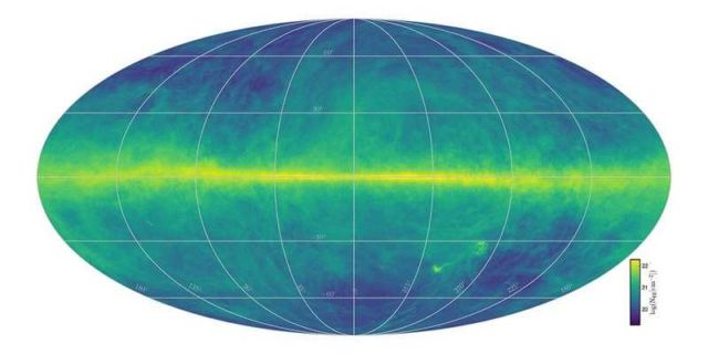 Detailed Map of the Hydrogen in our Galaxy