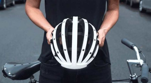 Fend- the Collapsible Bicycle Helmet (3)